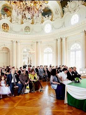 Организация свадьбы в королевском замке Баварии